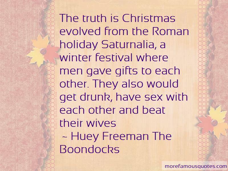 Huey Freeman The Boondocks Quotes Pictures 2