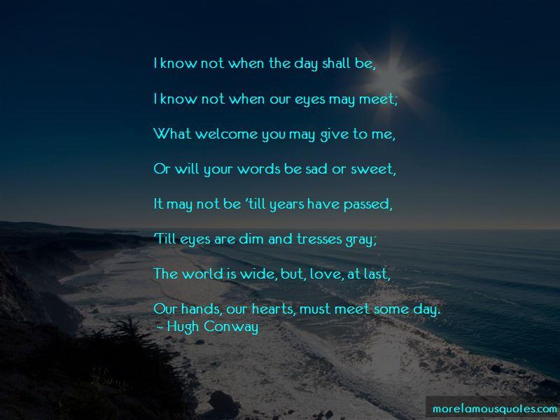 Hugh Conway Quotes