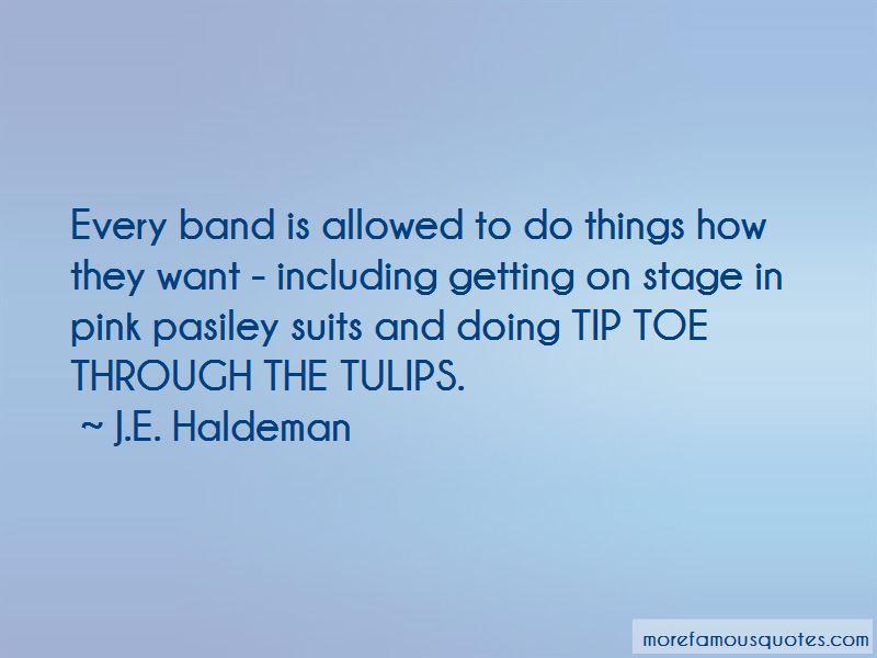 J.E. Haldeman Quotes Pictures 2