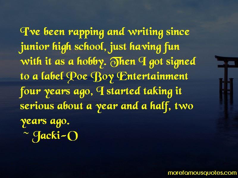 Jacki-O Quotes