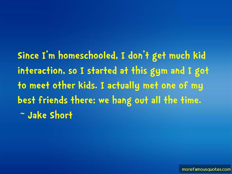 Jake Short Quotes Pictures 2