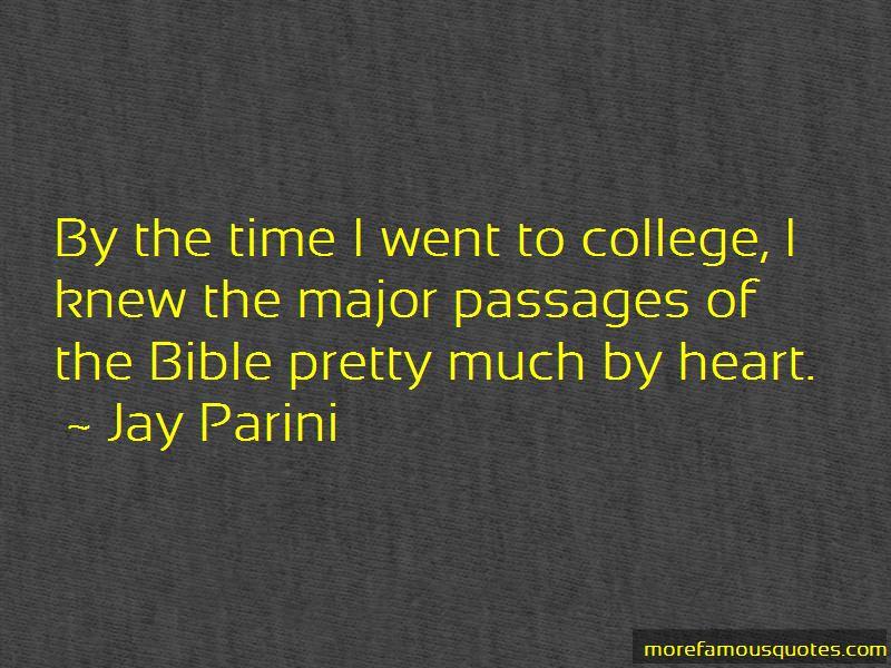 Jay Parini Quotes
