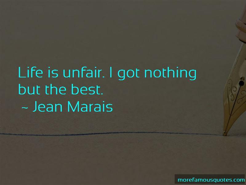 Jean Marais Quotes