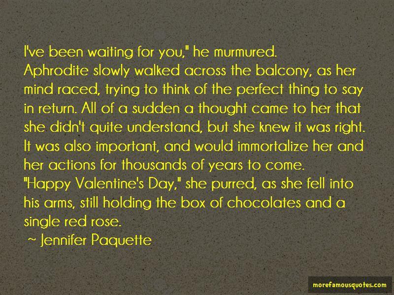 Jennifer Paquette Quotes
