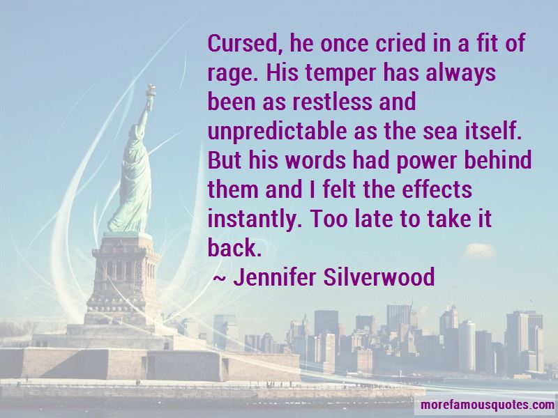 Jennifer Silverwood Quotes Pictures 4
