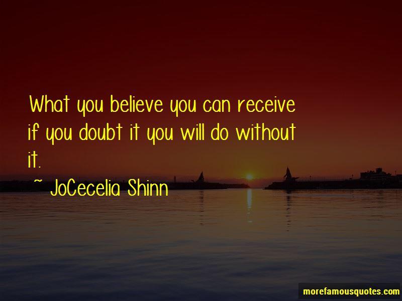 JoCecelia Shinn Quotes