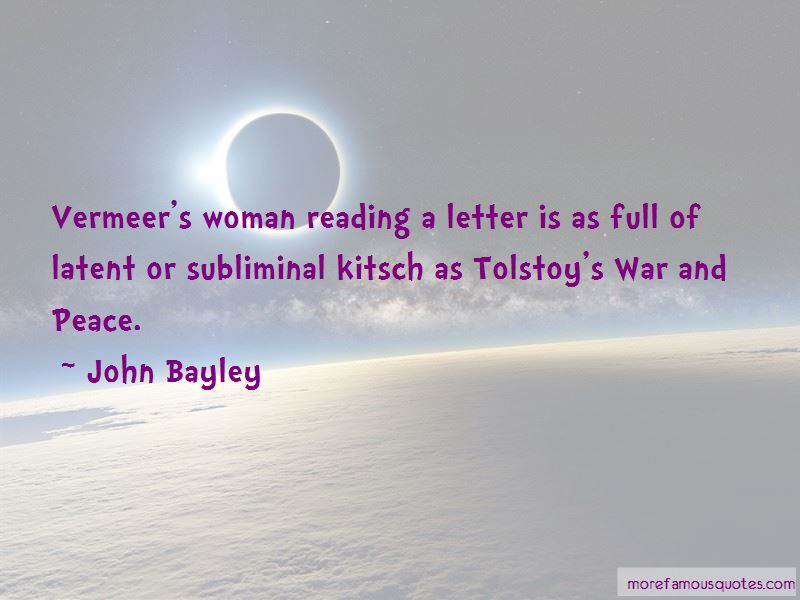 John Bayley Quotes Pictures 4