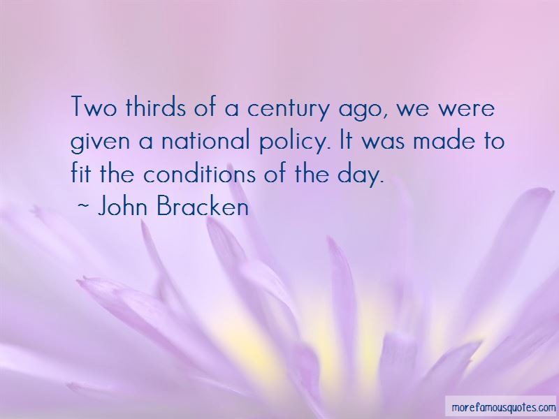 John Bracken Quotes