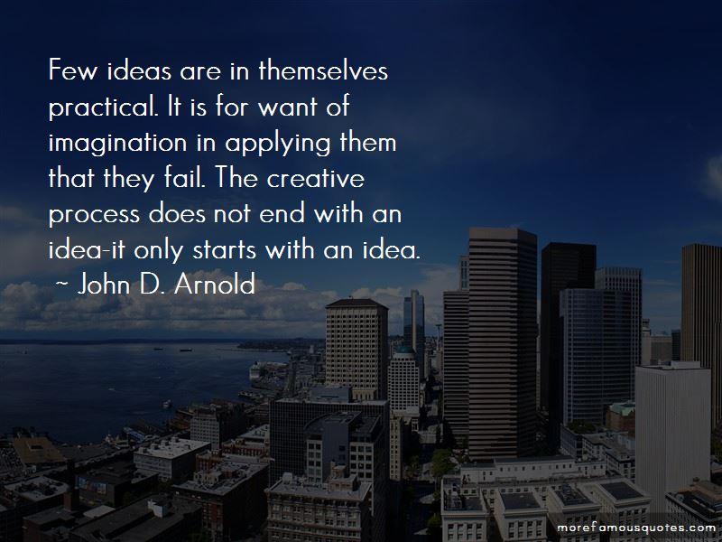 John D. Arnold Quotes