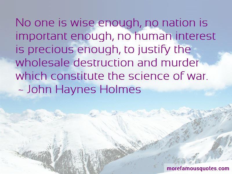 John Haynes Holmes Quotes