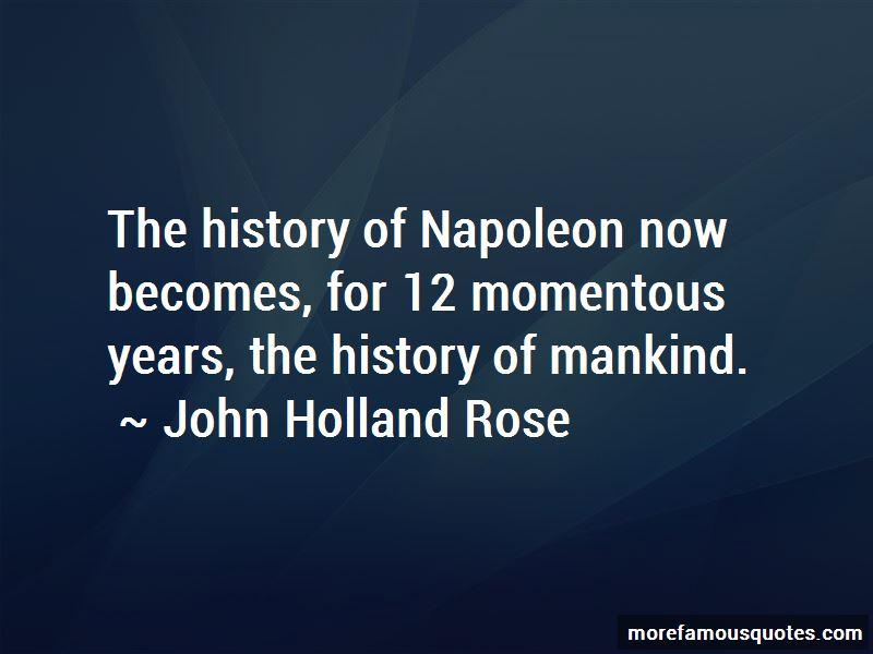 John Holland Rose Quotes