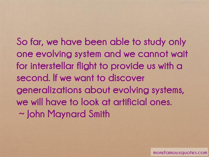 John Maynard Smith Quotes