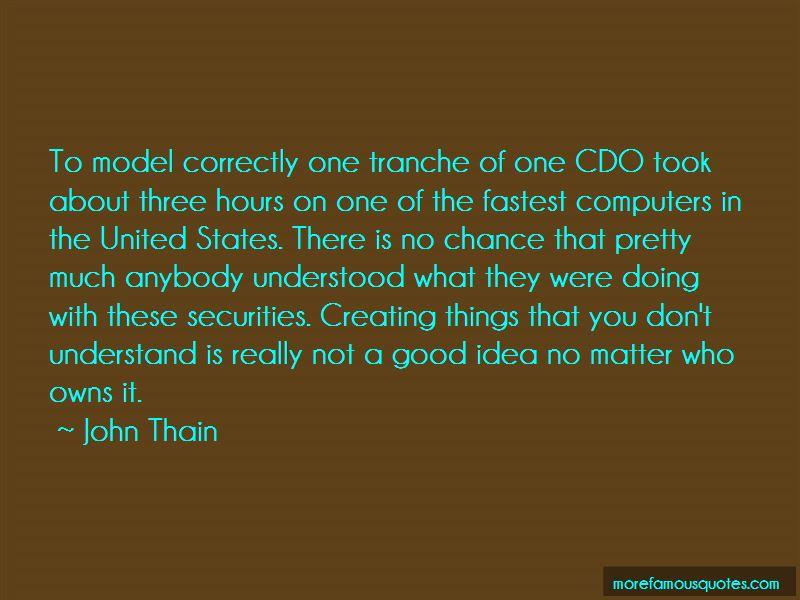 John Thain Quotes Pictures 3