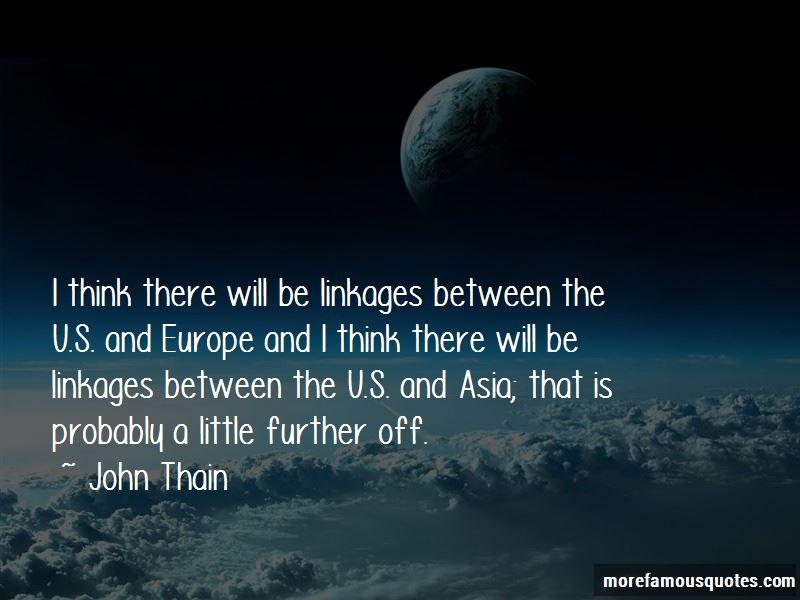 John Thain Quotes
