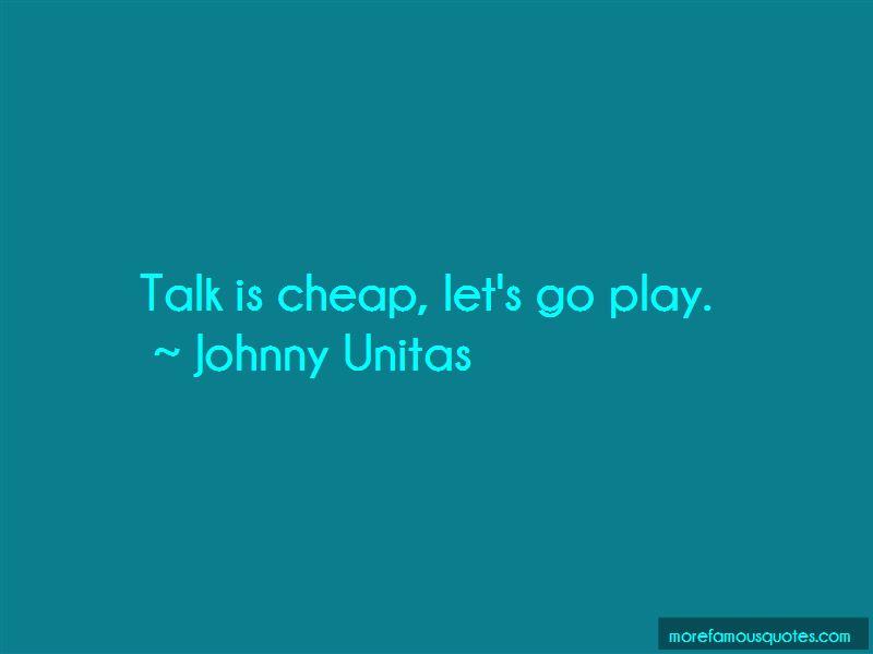 Johnny Unitas Quotes Pictures 2
