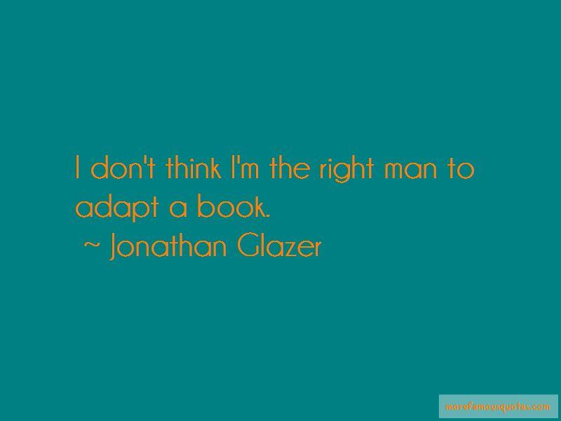 Jonathan Glazer Quotes Pictures 4