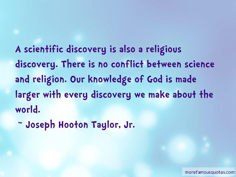 Joseph Hooton Taylor, Jr. Quotes