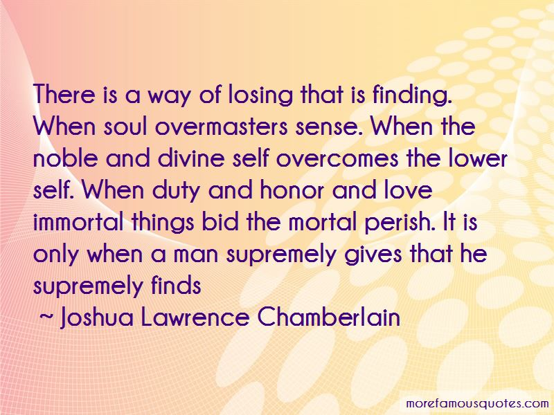 Joshua Lawrence Chamberlain Quotes Pictures 4