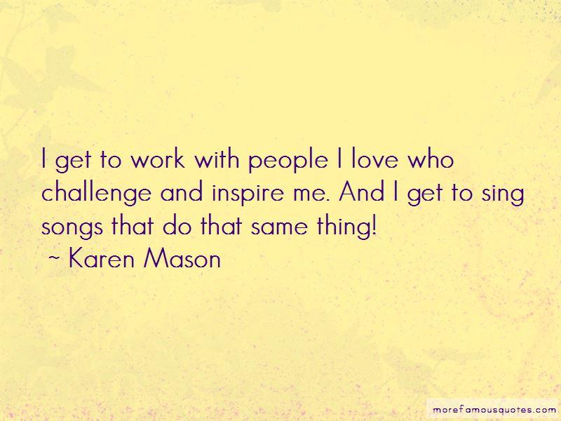 Karen Mason Quotes Pictures 2