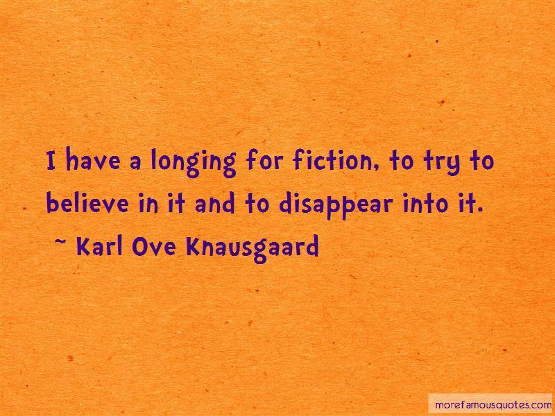 Karl Ove Knausgaard Quotes