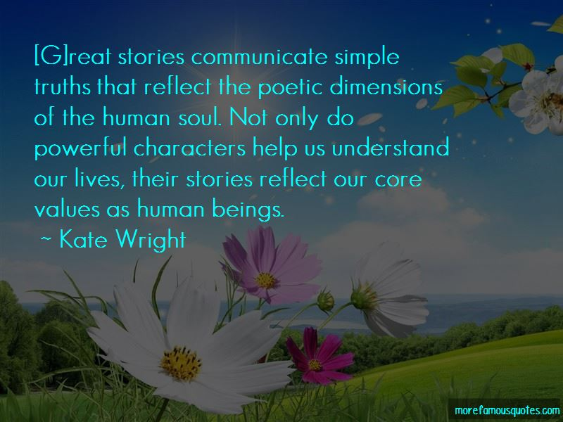 Kate Wright Quotes