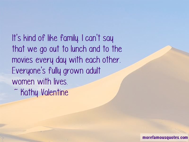 Kathy Valentine Quotes Pictures 2