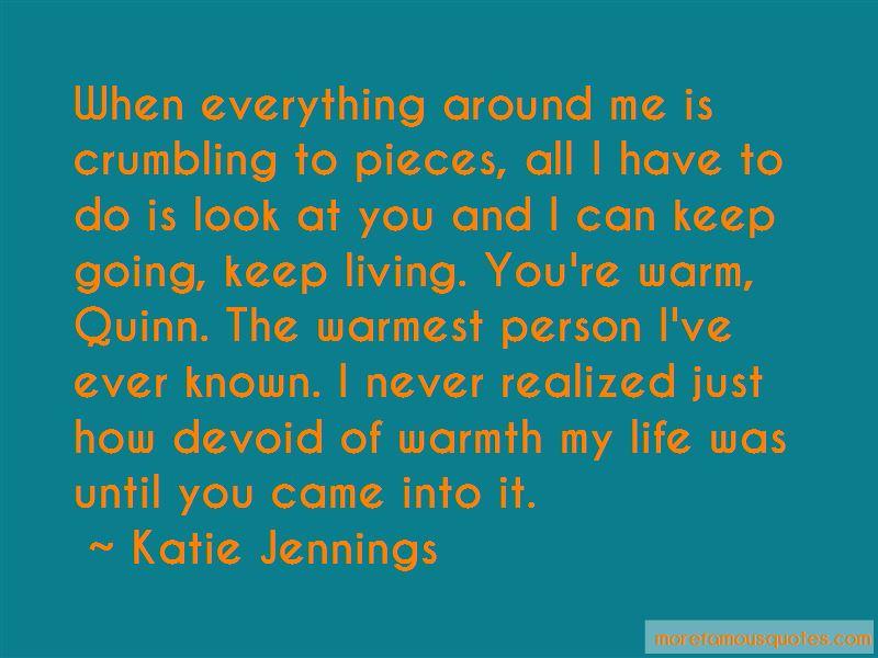 Katie Jennings Quotes