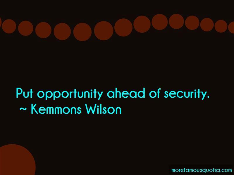 Kemmons Wilson Quotes