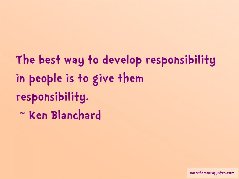 Ken Blanchard Quotes Pictures 2