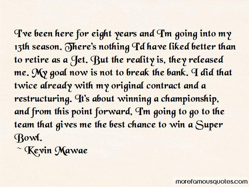 Kevin Mawae Quotes