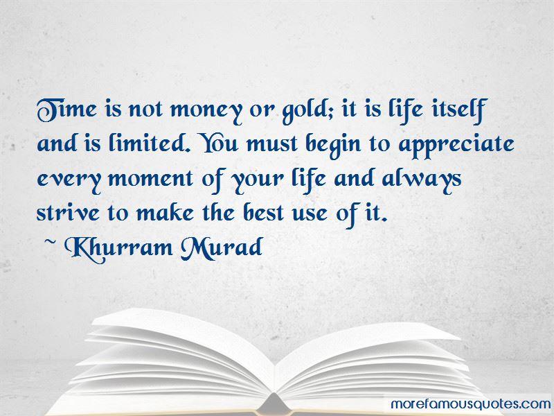 Khurram Murad Quotes