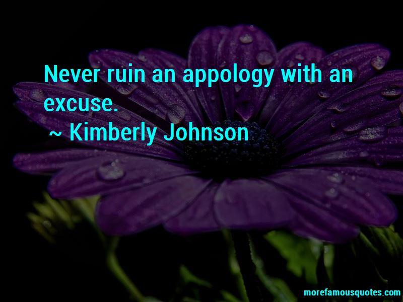 Kimberly Johnson Quotes