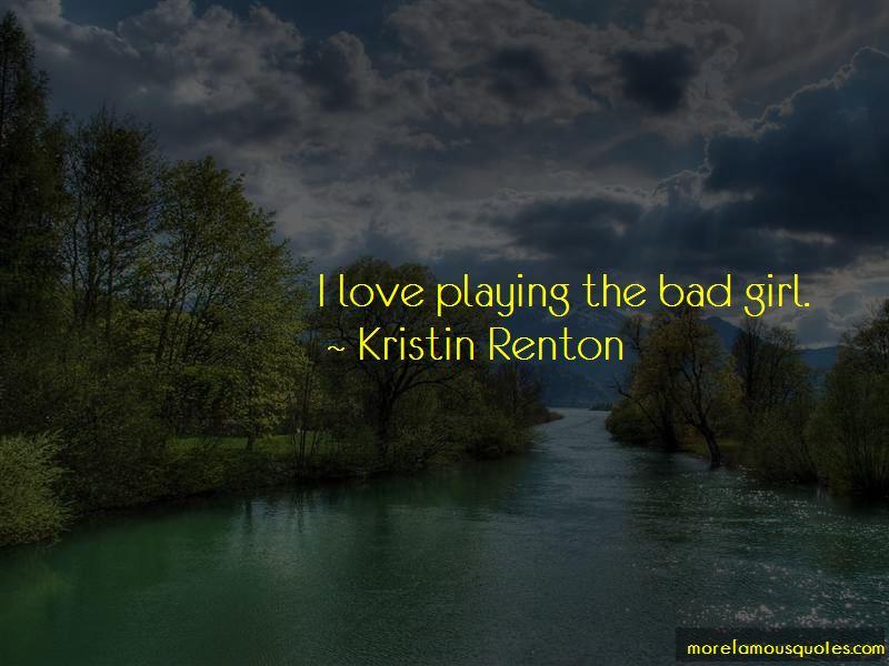 Kristin Renton Quotes Pictures 2