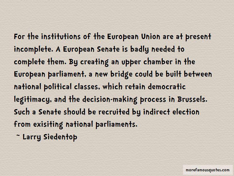 Larry Siedentop Quotes