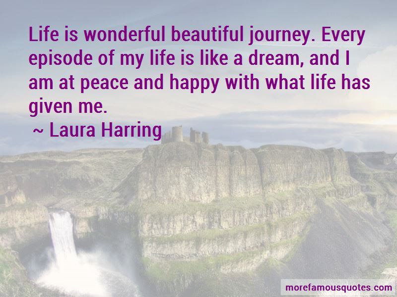 Laura Harring Quotes