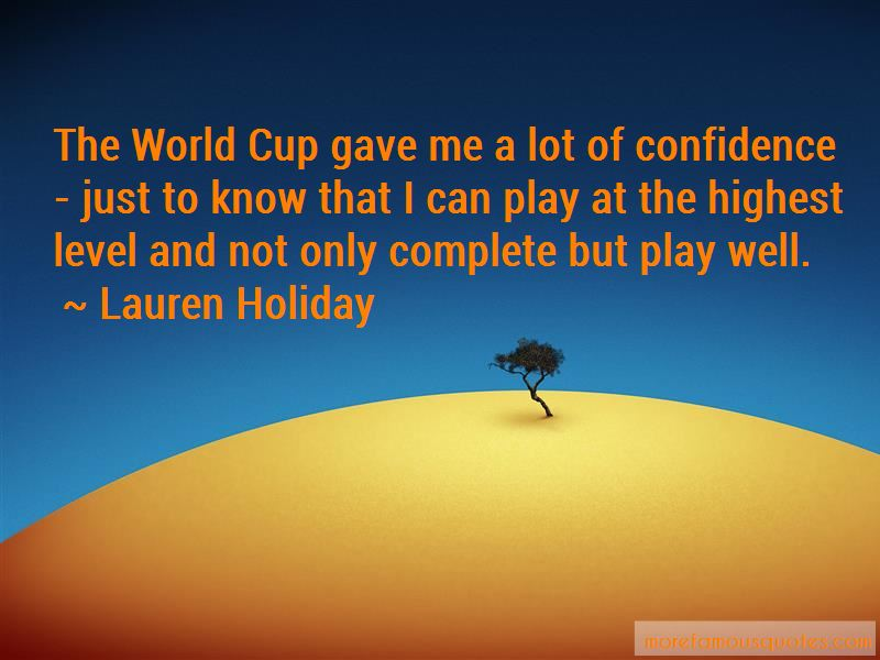 Lauren Holiday Quotes Pictures 3