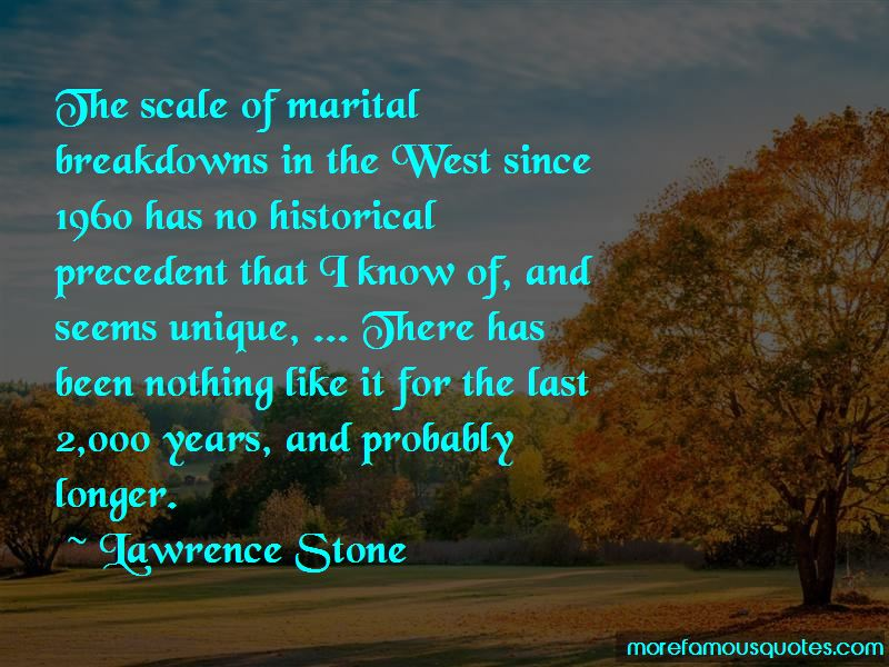 Lawrence Stone Quotes
