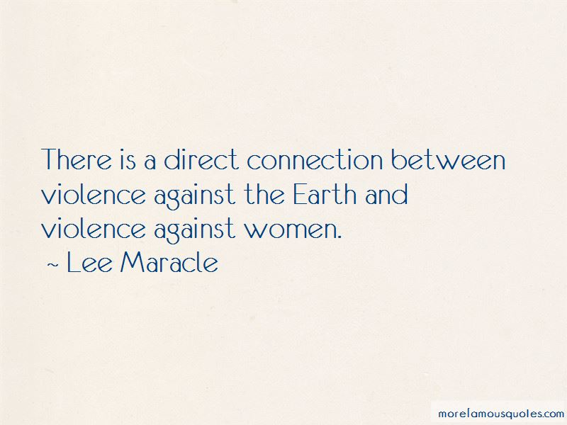 Lee Maracle Quotes