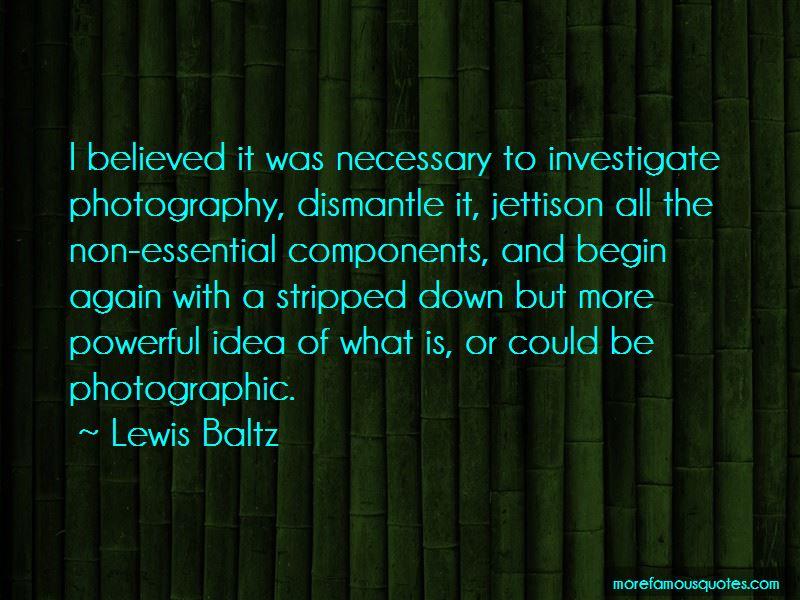 Lewis Baltz Quotes Pictures 2