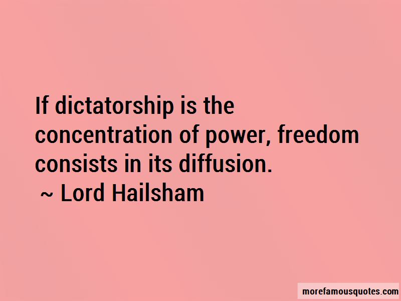 Lord Hailsham Quotes