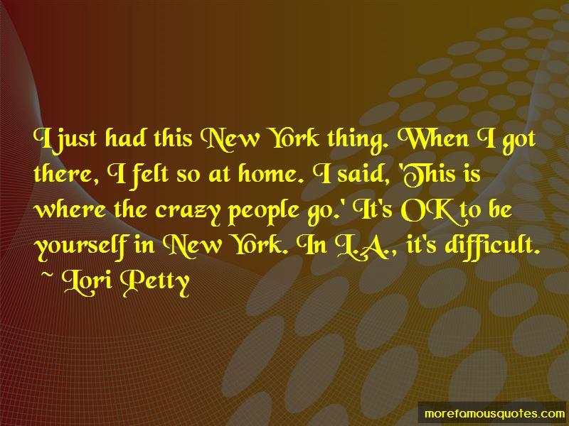 Lori Petty Quotes