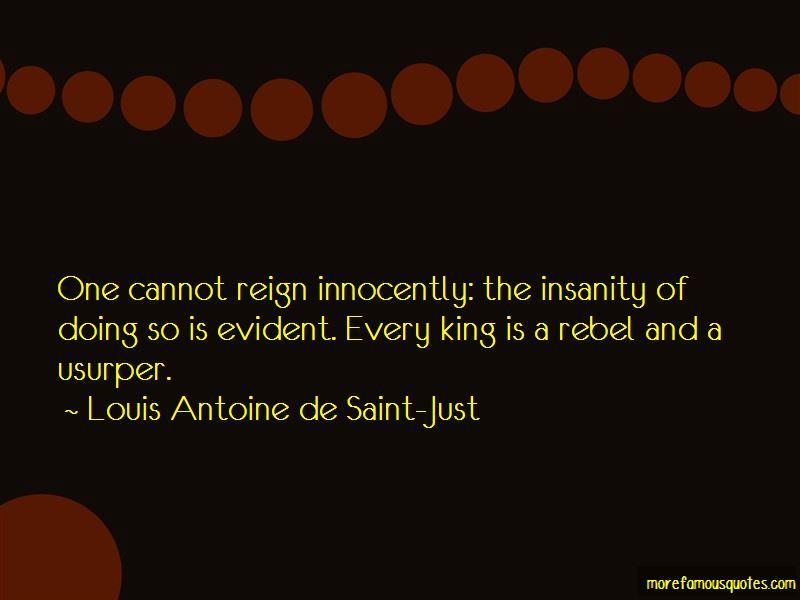 Louis Antoine De Saint-Just Quotes Pictures 4