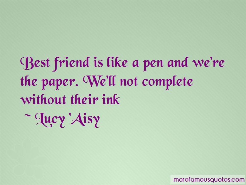 Lucy 'Aisy Quotes Pictures 2