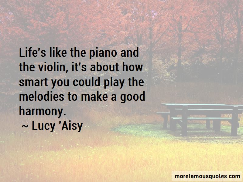 Lucy 'Aisy Quotes