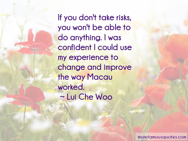 Lui Che Woo Quotes Pictures 2