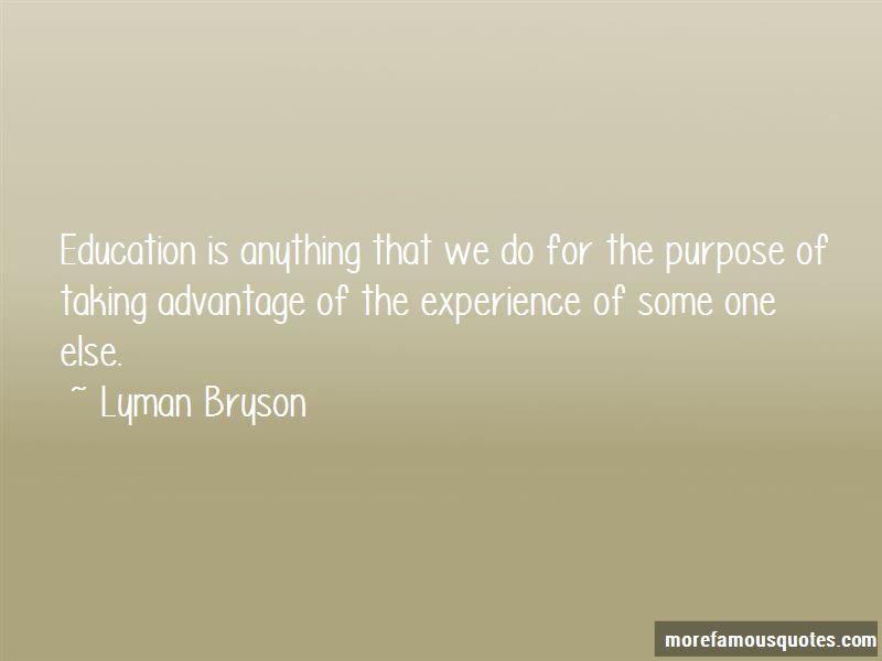 Lyman Bryson Quotes Pictures 3