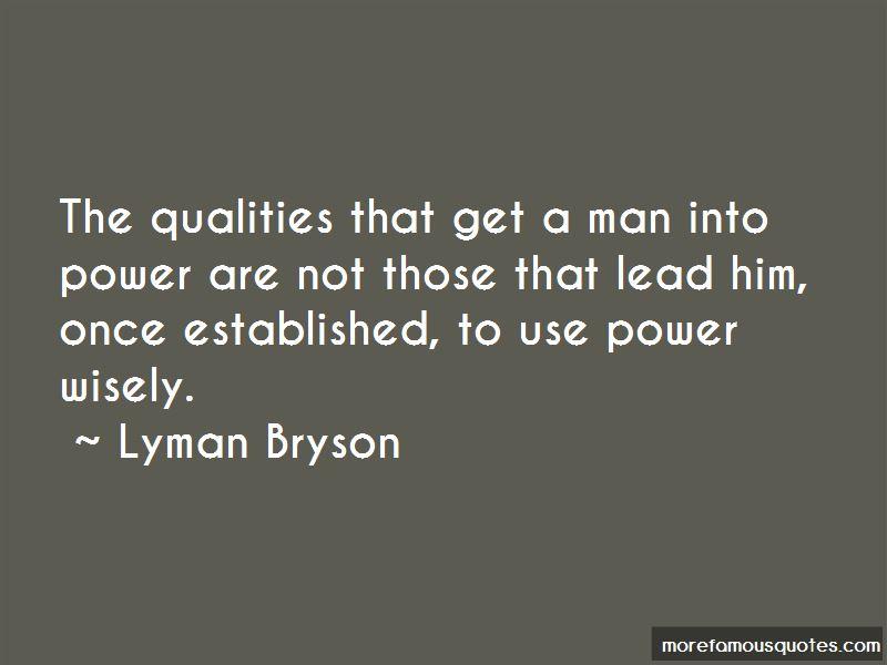 Lyman Bryson Quotes Pictures 4