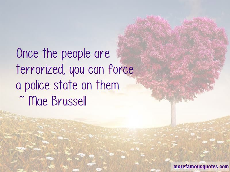 Mae Brussell Quotes