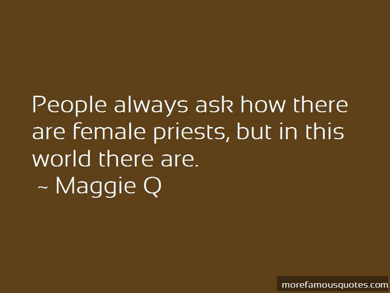 Maggie Q Quotes Pictures 3