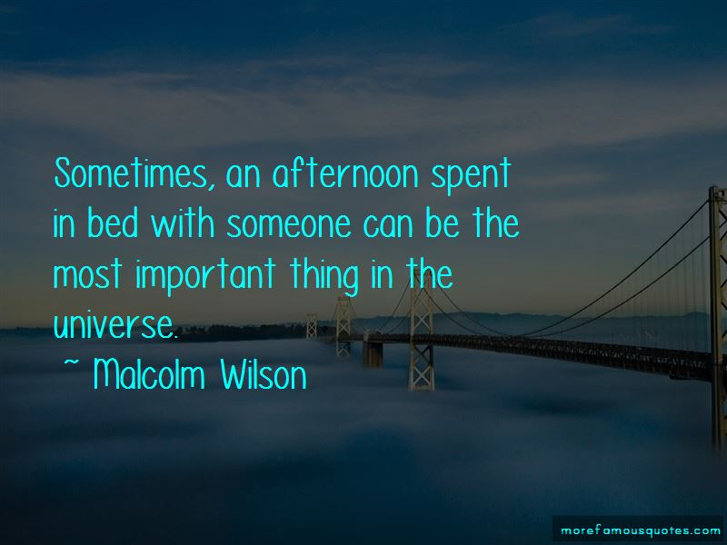Malcolm Wilson Quotes Pictures 2